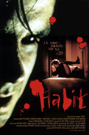 Habit 1995 movie poster