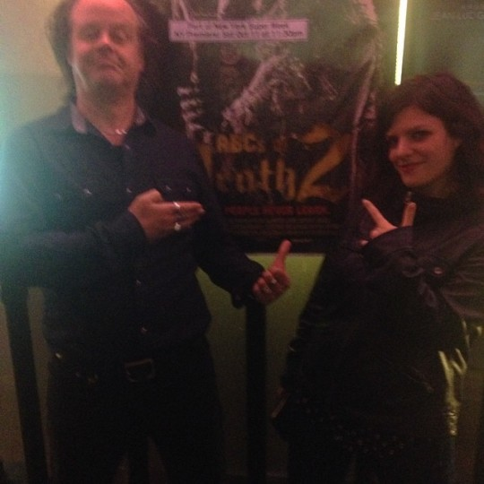 Fessenden and Producer Jenn Wexler at ABCs 2 Premiere