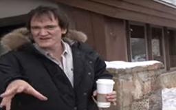 WATCH >> Tarantino Slaps a Cameraman