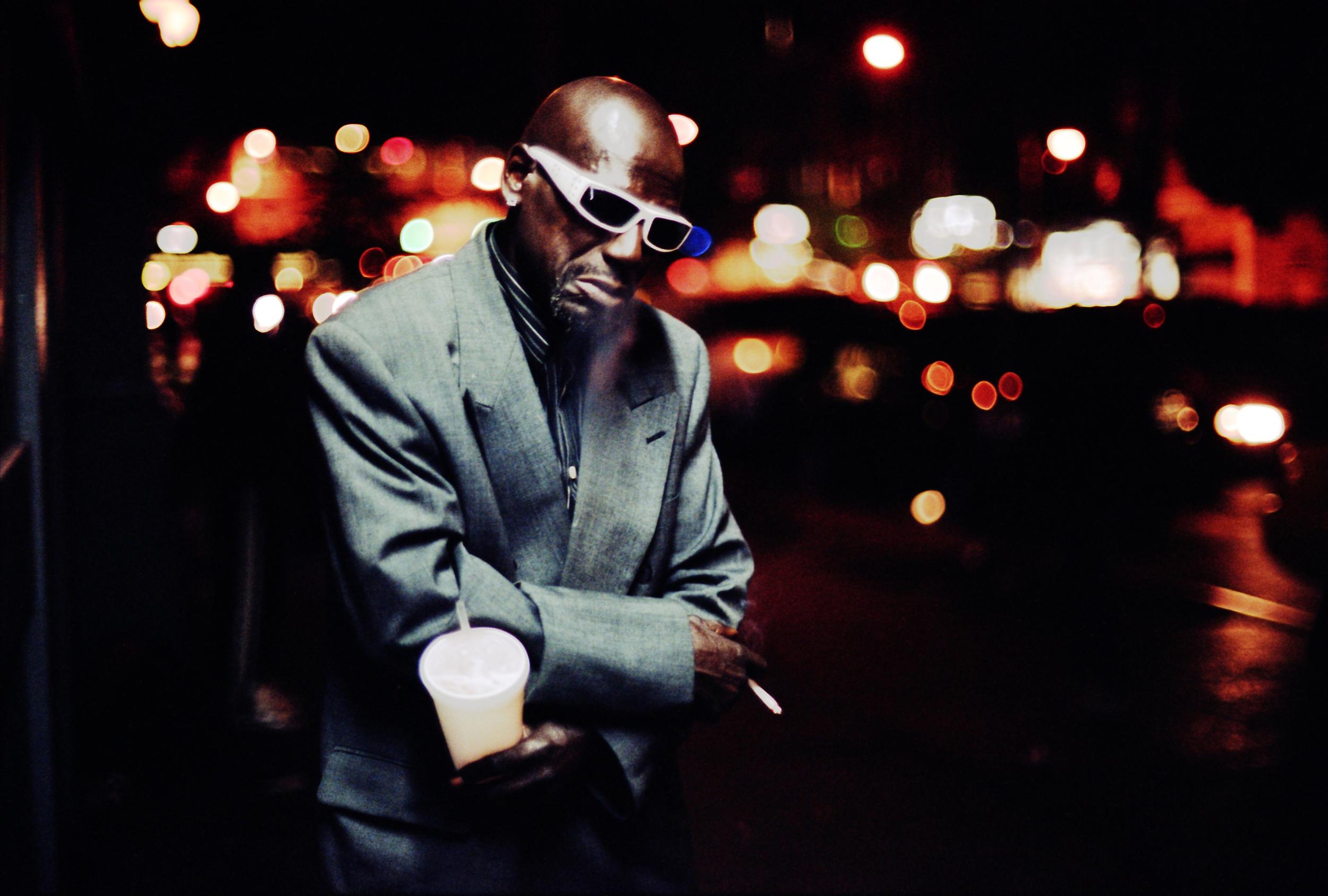 WATCH >> Khalik Allah and the Streets of Harlem at Night.