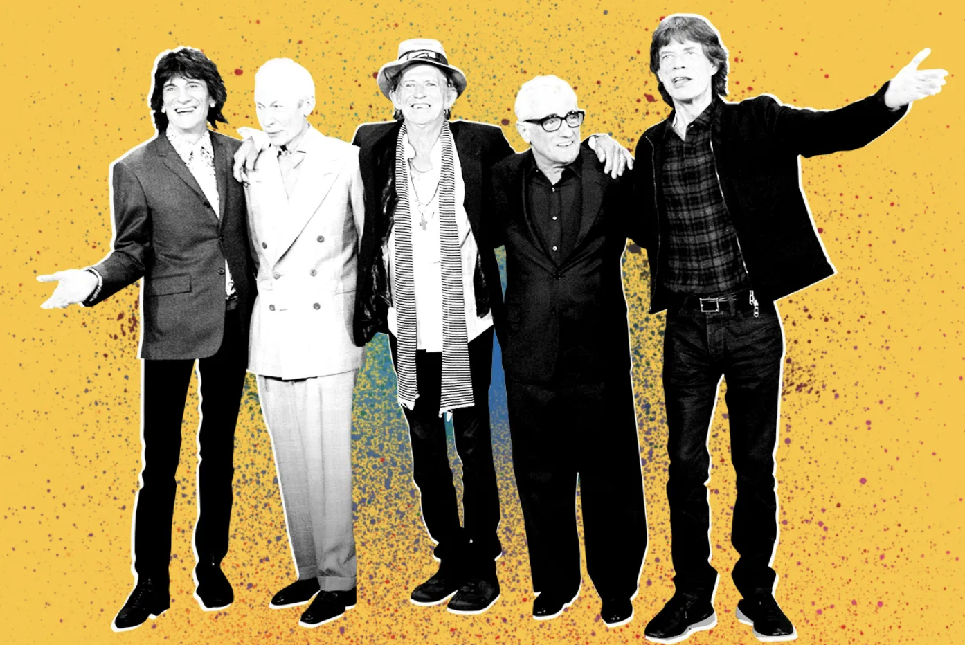 Scorsese's films feature his love for The Rolling Stones